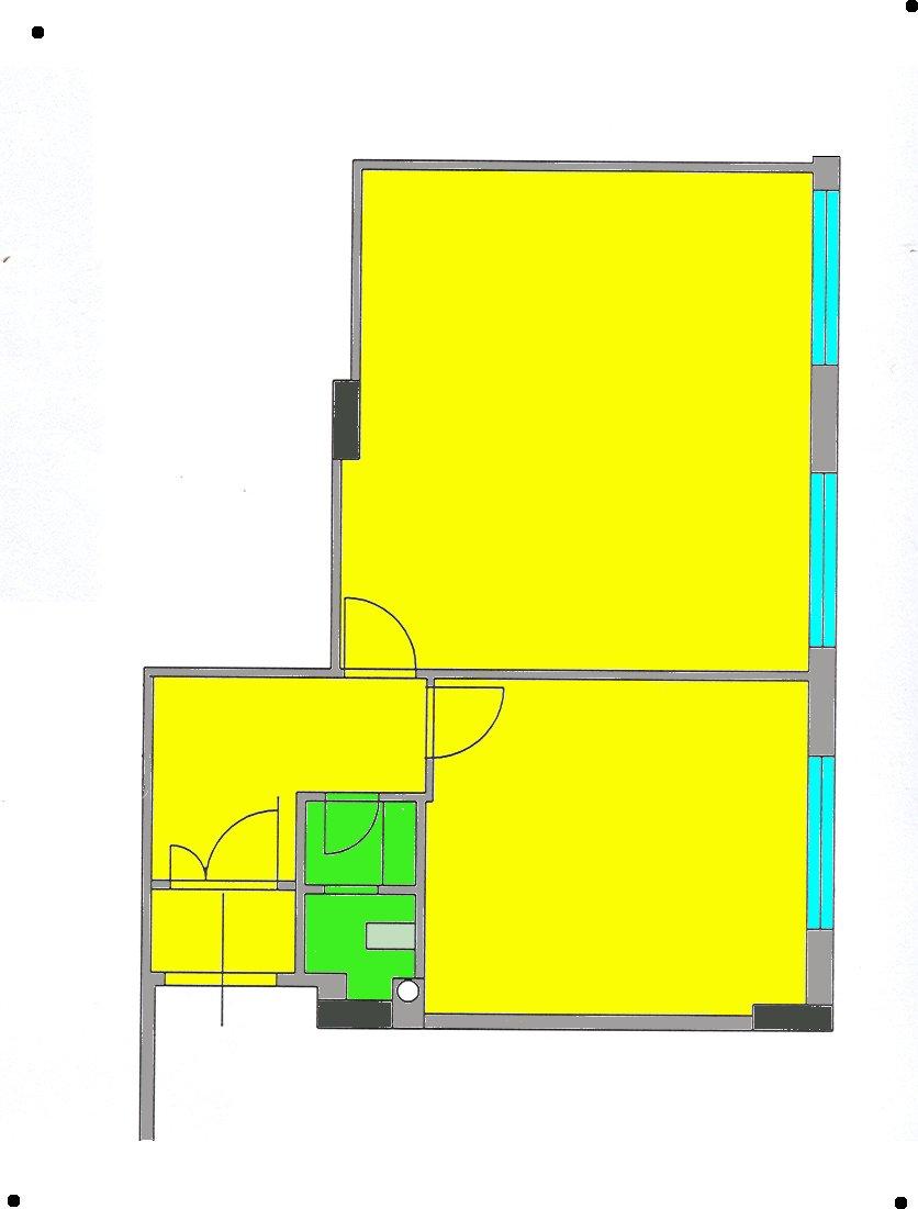 Ufficio arredato bivani 6 postazioni di lavoro gruppi di for Disegni di uffici di garage